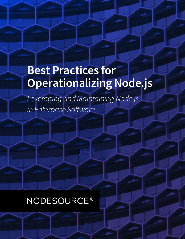 Best Practices for Operationalizing Node JS