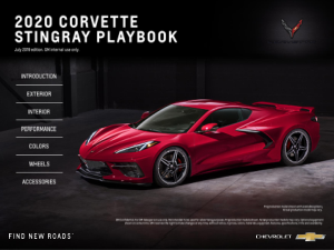 2020 Corvette Stingray Playbook