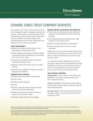 Edward Jones Trust Services