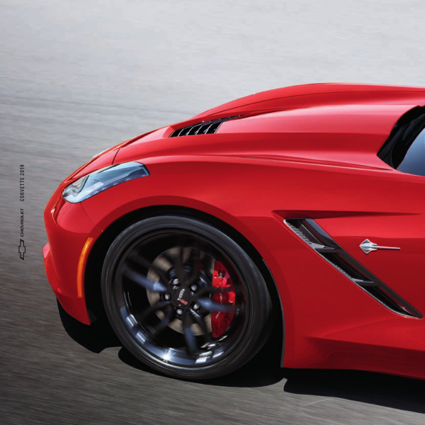 2019 Chevrolet Corvette Brochure