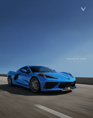 2020 C8 Chevrolet Corvette Catalog