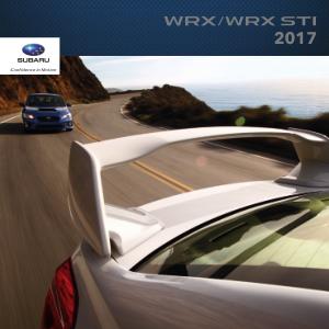 2017 Subaru WRX / STi Brochure
