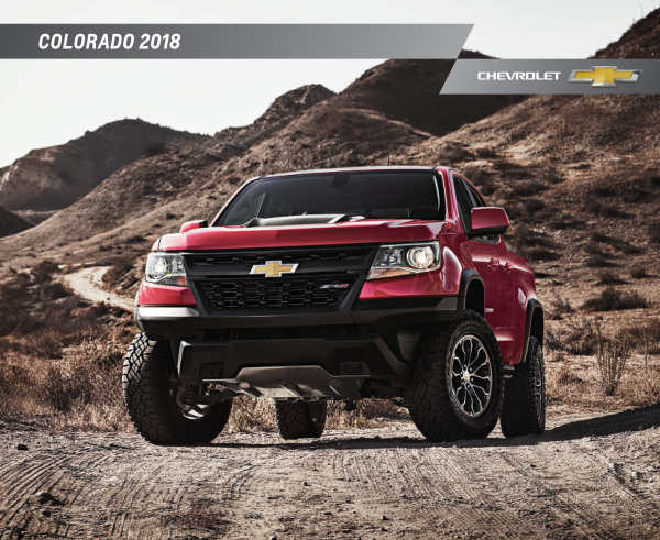 2018 Chevrolet Colorado Brochure