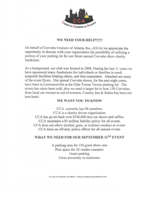 CCA Sponsor Kit