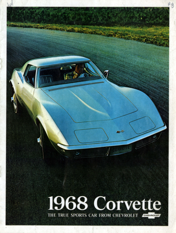 1968 Corvette C3 Brochure